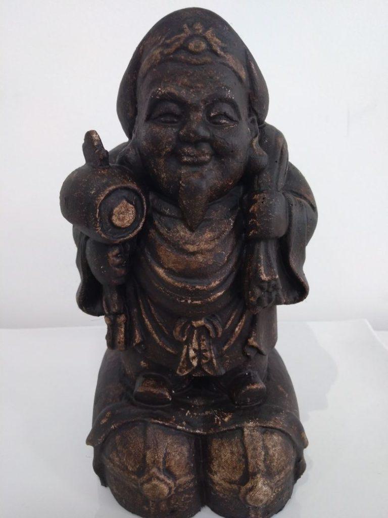 Estátua de Daikoku 30cm (Grande)