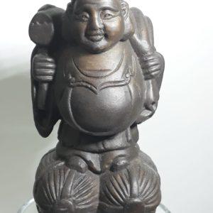 daikoku frente marrom 10cm MindUniverse Shop - Loja Virtual da MindUniverse Cursos, Livros, Protetores, Artesanatos e Souvenirs