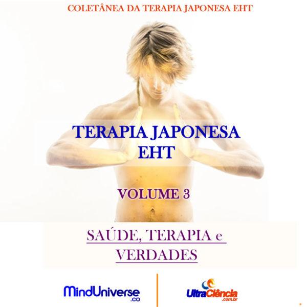 JPG TERAPIA VOL 3 Edição Limitada - Terapia Japonesa EHT - Volume 3 - Saúde, Terapia e Verdades