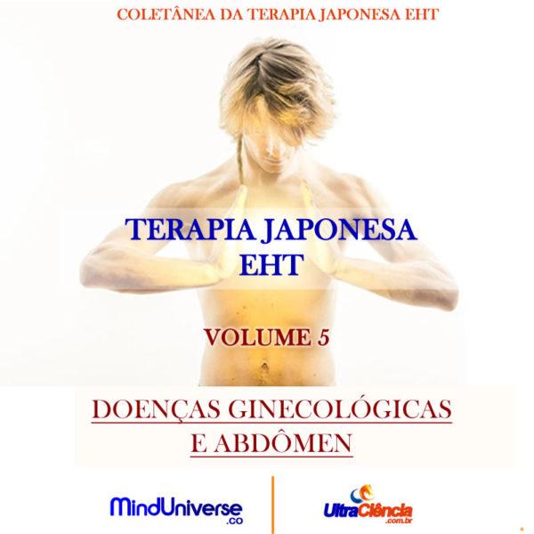 JPG TERAPIA VOL 5 Edição Limitada - Terapia Japonesa EHT - Volume 5 - Doenças Ginecológicas e Abdômen